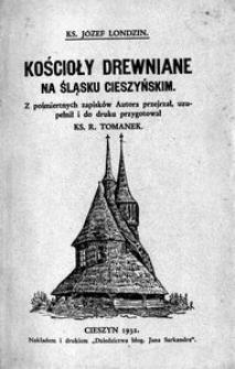 Kościoły drewniane na Śląsku Cieszyńskim