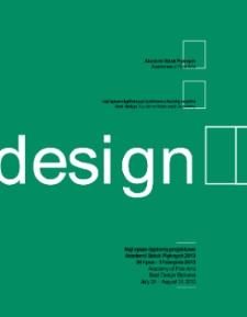 Najlepsze Dyplomy Projektowe Akademii Sztuk Pięknych 2013