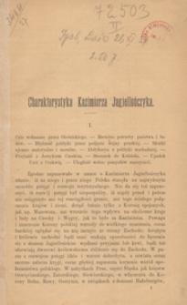 Charakterystyka Kazimierza Jagiellończyka