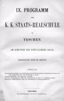 Urkundliche Beiträge zur Geschichte des Protestantismus im Herzogtum Teschen bis zum Toleranzpatent