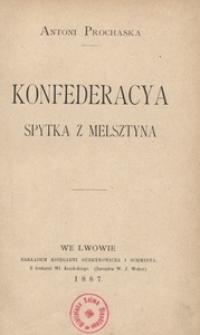 Konfederacya Spytka z Melsztyna