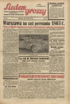 Siedem Groszy, 1938, R. 7, nr 23