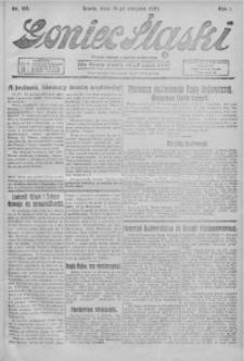 Goniec Śląski, 1921, R. 1, nr 181
