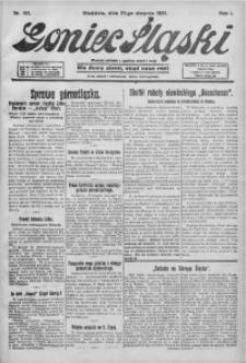 Goniec Śląski, 1921, R. 1, nr 191