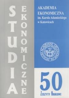 Zastosowanie metod matematycznych w ekonomii i zarządzaniu