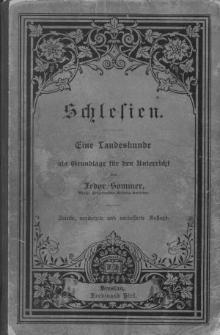 Schlesien. Eine Landeskunde als Grundlage fur den Unterricht