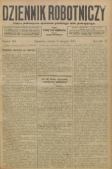 Dziennik Robotniczy, 1913, R. 23, nr 184