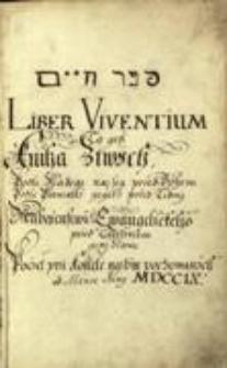 Księga zmarłych Parafii Ewangelicko-Augsburskiej w Cieszynie, T. 1, 1709 - 1850, sygn. 1075