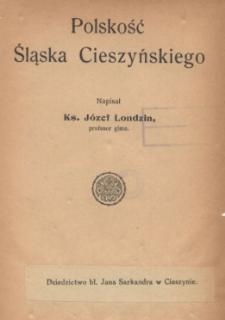 Polskość Śląska Cieszyńskiego