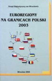 Euroregiony na granicach Polski 2003