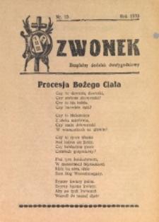 Dzwonek, 1933, [R. 31], nr 10