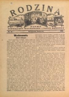 Rodzina, 1933, nr 10