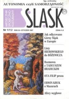 Śląsk, 1997, R. 3, nr 1