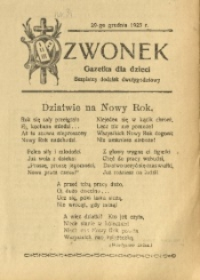 Dzwonek, 1925, R. 24, nr 35
