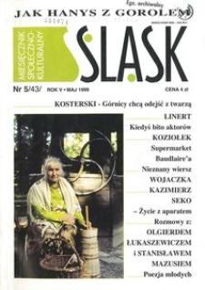 Śląsk, 1999, R. 5, nr 5