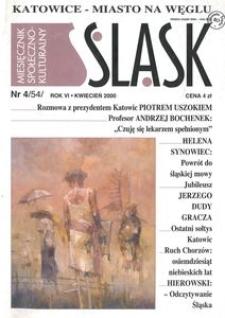 Śląsk, 2000, R. 6, nr 4