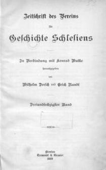 Zeitschrift des Vereins für Geschichte Schlesiens, 1929, Bd. 63