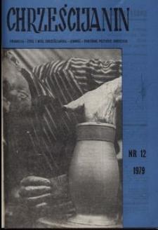 Chrześcijanin, 1979, nr 12