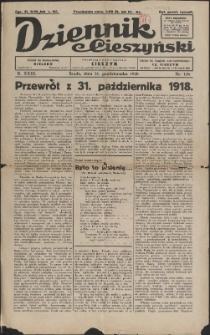 Dziennik Cieszyński, 1928, 126, 129-130, 132