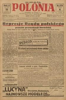 Polonia, 1927, R. 4, nr 274