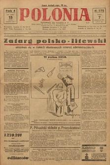Polonia, 1927, R. 4, nr 275