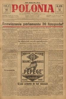Polonia, 1927, R. 4, nr 279