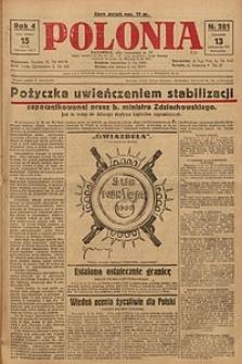 Polonia, 1927, R. 4, nr 281