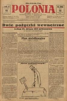 Polonia, 1927, R. 4, nr 282