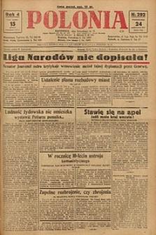 Polonia, 1927, R. 4, nr 292