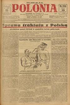 Polonia, 1927, R. 4, nr 293