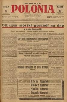 Polonia, 1927, R. 4, nr 295