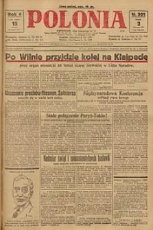 Polonia, 1927, R. 4, nr 301