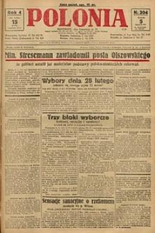Polonia, 1927, R. 4, nr 304