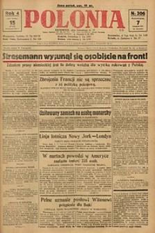 Polonia, 1927, R. 4, nr 306
