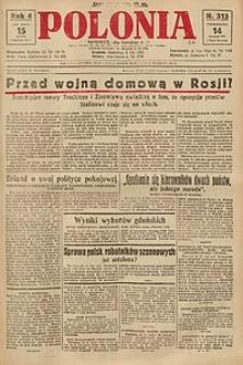 Polonia, 1927, R. 4, nr 313