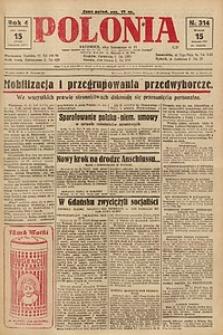 Polonia, 1927, R. 4, nr 314
