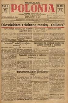 Polonia, 1927, R. 4, nr 320