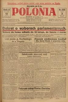Polonia, 1927, R. 4, nr 332