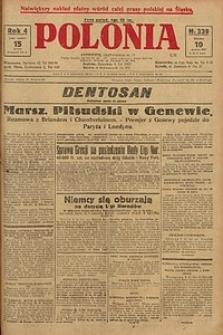 Polonia, 1927, R. 4, nr 339