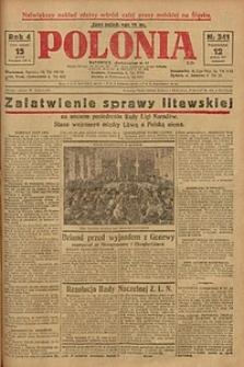 Polonia, 1927, R. 4, nr 341