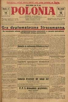 Polonia, 1927, R. 4, nr 345