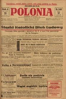 Polonia, 1927, R. 4, nr 346