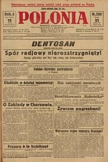 Polonia, 1927, R. 4, nr 350