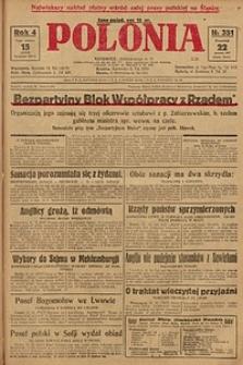 Polonia, 1927, R. 4, nr 351