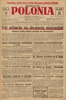 Polonia, 1927, R. 4, nr 357