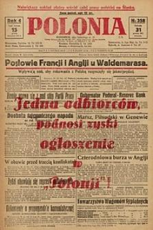 Polonia, 1927, R. 4, nr 358