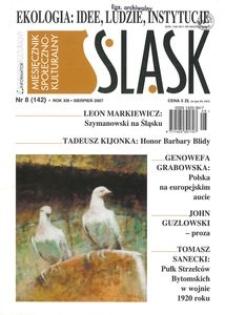 Śląsk, 2007, R. 13, nr 8