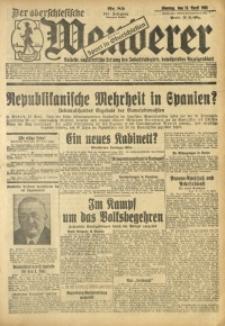Der Oberschlesische Wanderer, 1931, Jg. 104, Nr. 85