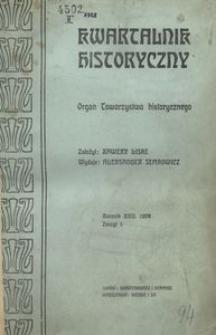 Kwartalnik Historyczny. R 22 (1908)
