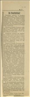 Odezwa Z. G. Zw. Powst. Śląskich (podpisana przez Władysława Wieczorka) przeciw popieraniu przez powstańców ruchu strajkowego